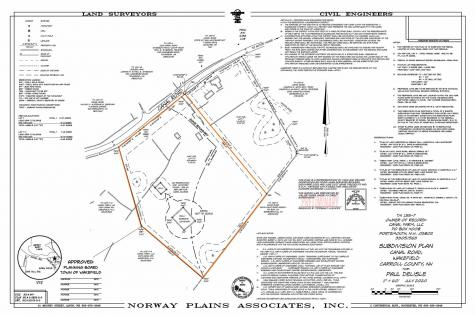 Lot 7-1 Canal Road Wakefield NH 03830