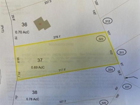 Lot 37 Friar Tuck Drive Wakefield NH 03830