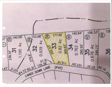 Lot 33 Landsdown Lane Conway NH 03818