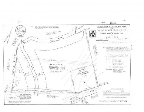 Lot 1A North River Road Lee NH 03861