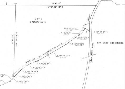 Lead Mine Road Madison NH 03849