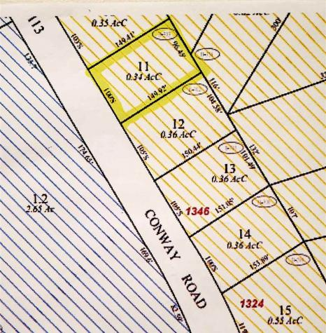 Map 110 Lot 11 Conway Madison NH 03849