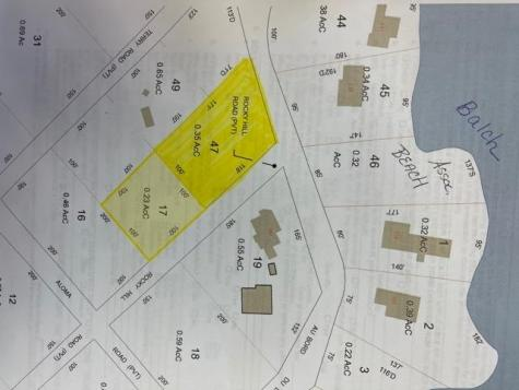 Lots 47 & 17 Au Bord Du Lac Road Wakefield NH 03830