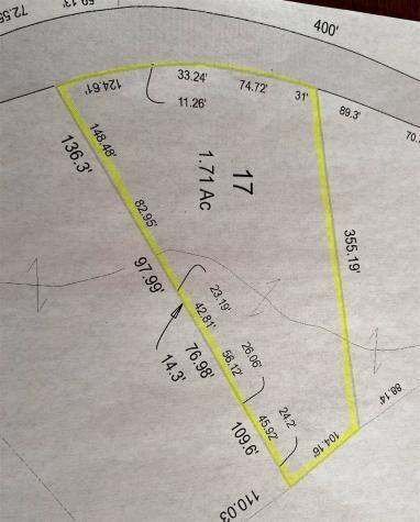 Lot 17 Peaked Hill Road Bristol NH 03222