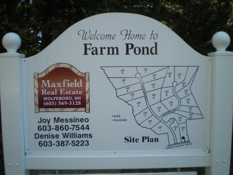 Lot 4 Farm Pond Tuftonboro NH 03816
