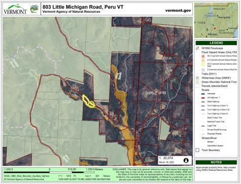 803 Little Michigan Road Peru VT 05152