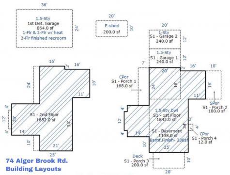 74 Alger Brook Road Strafford VT 05070