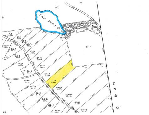 Lot 67-8 Powder Mill Alton NH 03809