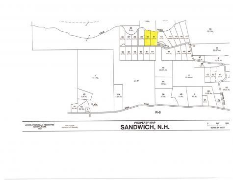 Lot 60-61 Hannah Road Sandwich NH 03227