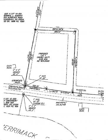 Lot 1 Intervale Road Canterbury NH 03224