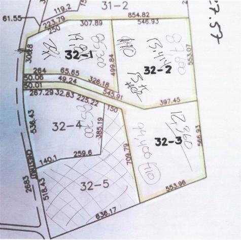 Lots 32-1-2-3 Chestnut Hill Road New Boston NH 03070
