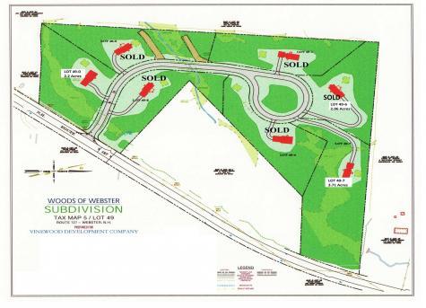 Lot 49 Blackberry Lane Webster NH 03303