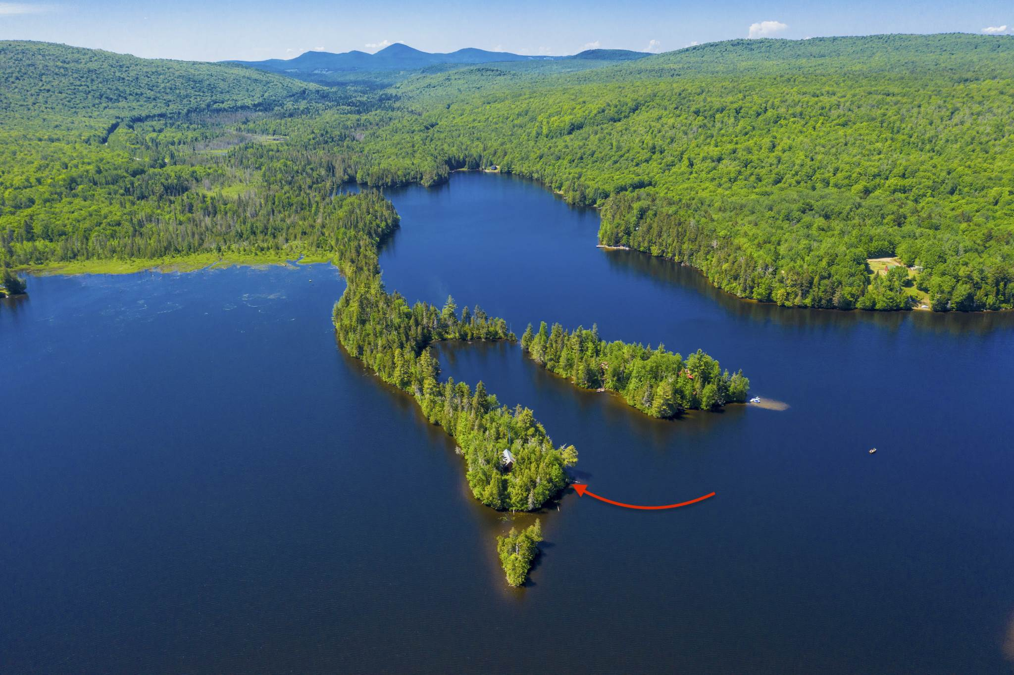 2967 South End Norton Lake Island Warren Gore VT 05846