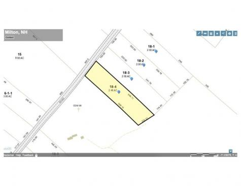 Lot 4 - 164 Mason Road Milton NH 03851