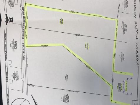 Map 11 Lot 64-1&2 & Lot 66 Roller Coaster Strafford NH 03884