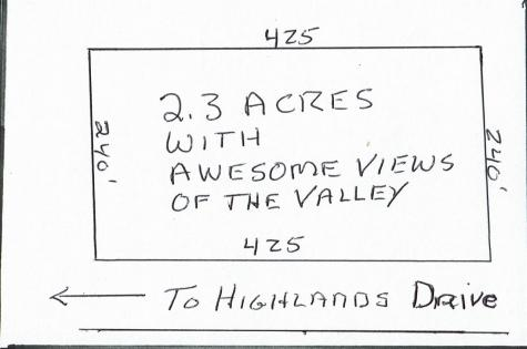 Map 298 Lot 52 Highlands Drive Conway NH 03818