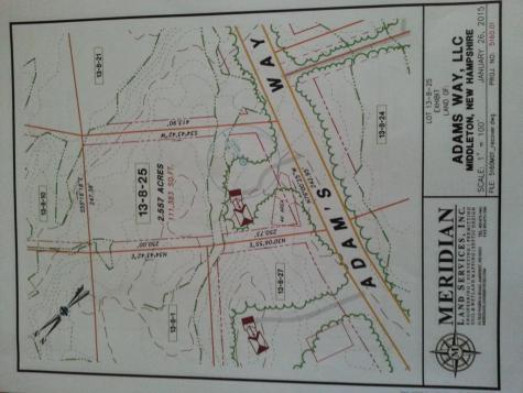 Lot 25 Adams Way Middleton NH 03887