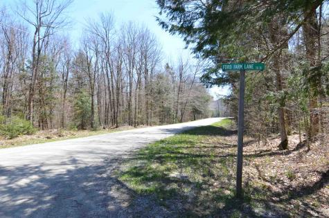 Lot #38 Ford Farm Lane Ludlow VT 05149