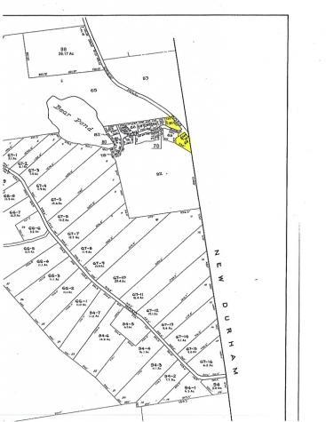 Lot 68, 68A, 91 Bear Pond Road Alton NH 03809