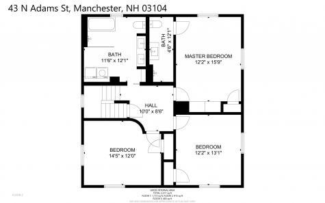 43 N Adams Street Manchester NH 03104