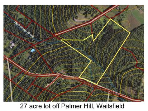Palmer Hill Road Waitsfield VT 05673