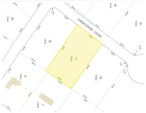 Lot 17 Christopher Court Wolfeboro NH 03894