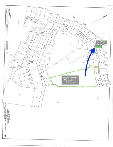 Map 33 Lot 33 Browns Pasture Strafford NH 03884