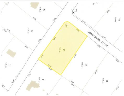 Lot 18 Christopher Court Wolfeboro NH 03894