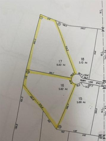 Lot 16 & 17 Glory Lane Colebrook NH 03576