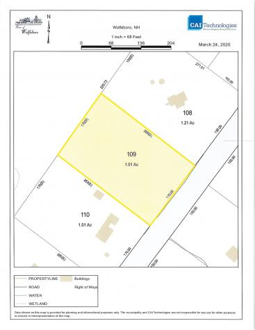 Lot 109 Winterhaven Road Wolfeboro NH 03894