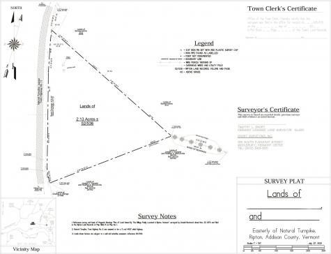 TBD Natural Turnpike Ripton VT 05766