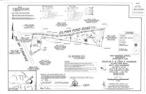 Gilman Pond/2nd NH Turnpike Road Unity NH 03603